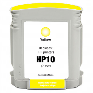 Cartuccia Compatibile con con HP 10 Yellow