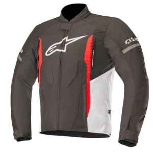 GIACCA MOTO ALPINESTARS T-FASTER JACKET BLACK WHITE RED GRAY COD. 3303518