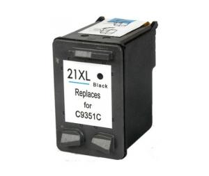Cartuccia Compatibile con HP 21XL BK Tripla Capacità