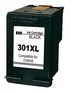 Cartuccia Compatibile con HP 301XL BK Tripla Capacità New Chip