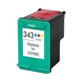 Cartuccia Compatibile con HP 343 Colore Doppia Capacità