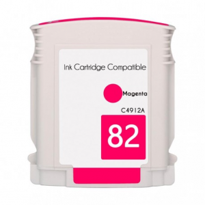Cartuccia Compatibile con HP 82XL C4912A Magenta