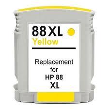 Cartuccia Compatibile con HP 88 Yellow