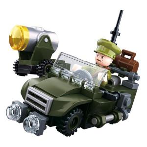 SLUBAN WWII 4IN1 ARMY MODEL B M38-B0678B