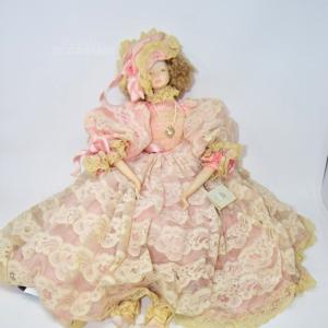 Bambola Rosa Thai Batik Da Collezione Italy