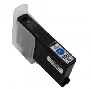 Cartuccia Compatibile con LEXMARK N. 100XL Ciano Doppia Capacità