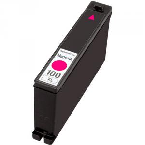 Cartuccia Compatibile con LEXMARK N. 100XL Magenta Doppia Capacità