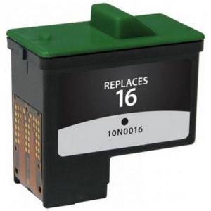 Cartuccia Compatibile con LEXMARK N. 16 BK Doppia Capacità