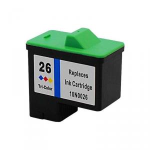 Cartuccia Compatibile con LEXMARK N. 26 Color Doppia Capacità-2