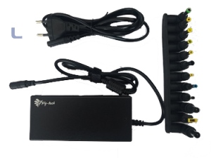 ALIMENTATORE FLY-TECH per NOTEBOOK - UNIV. 120W 12 connettori incluso Lenovo