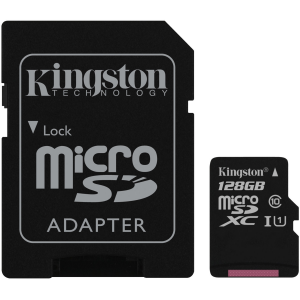 MICRO SD KINGSTON CANVAS SDCS 128GBSP C10