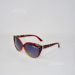 Occhiali Imitazione Richmond Rosso Zigrinati JR74205 RU