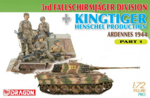 3rd Fallschirmjager Division + Kingtiger Henschel Production (Ardennes 1944) Part 1