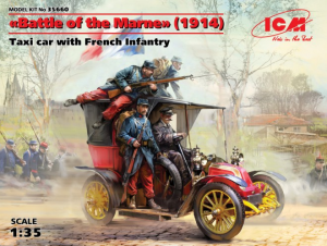 Taxi car with French Infantry