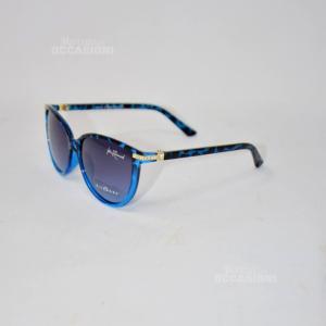 Occhiali Richmond Imitazione Leopardati Blu JR75804 RU