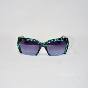 Occhiali Richmond Imitazione Leopardato Verde JR77503 RU