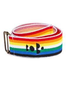 Cintura arcobaleno unisex stampa nera