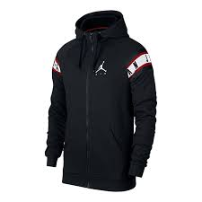FELPE JORDAN AR2248-010 FVN 07049 BLACK/RED/WHITE