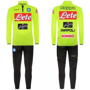 TUTA NAPOLI ALLENAMENTO OFFICIAL 303HLCO 904 YELLOW FLUO-GREY