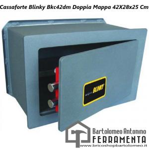 Cassaforte Blinky Bkc42dm Doppia Mappa 42X28x25 Cm