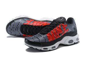 SNEAKERS AIR MAX PLUS TN SE AT0040 001 BLACK/WHITE/RED