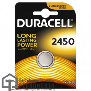 Duracell CR 2450 Elettronica-2