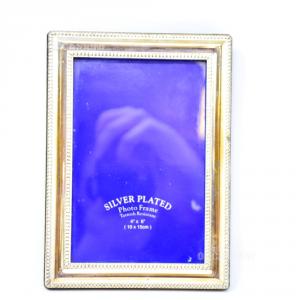 Cornice Silver Plated Bordi Righettati