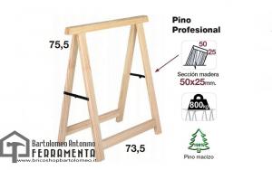 CAVALLETTI PINO H.750 mm