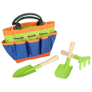 Attrezzi e borsa da giardinaggio con borsa