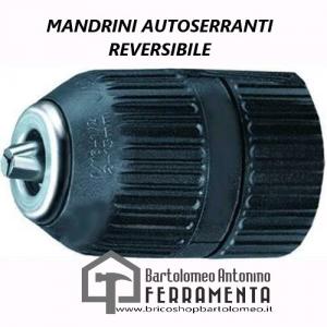 MANDRINI AUTOSERRANTI VIGOR REVERSIBILE 1/2X20 F MM. 2-13