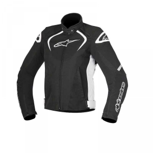 GIACCA MOTO ALPINESTARS STELLA T-JAWS WATERPROOF JACKET BLACK WHITE COD. 3211017