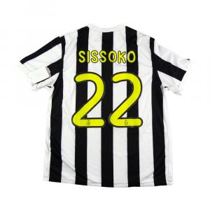 2009-10 Juventus Maglia Home #22 Sissoko M *CARTELLINO