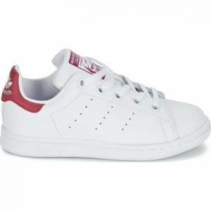 SNEAKERS ADIDAS STAN SMITH BA8377 WHITE/PINK
