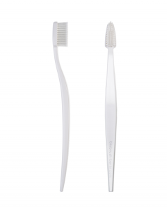 Spazzolino da Denti Biodegradabile Colore Bianco