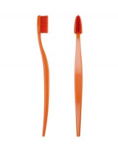 Spazzolino da Denti Biodegradabile Colore Arancio
