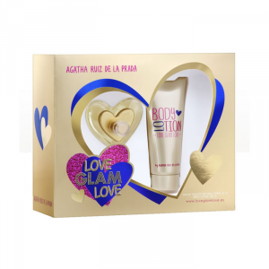 Agatha Ruiz De La Prada Love Glam Love Eau De Toilette Spray 50ml Set 2 Parti