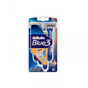 Gillette Blue3 6 Unità