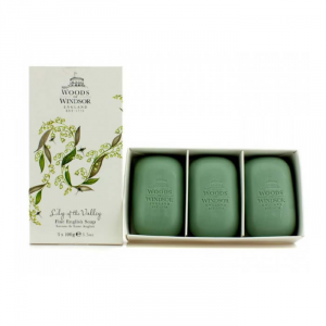 Woods Of Windsor Lily Of The Walley Sapone 3x100g