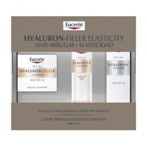 Eucerin Hyaluron Filler Elasticity Crema Giorno 50ml Set 3 Parti 2018