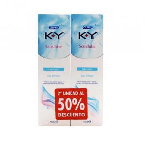 Durex Sensilube KY Lubrificante Vaginale 2x75ml