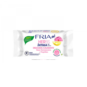 Fria Herbs Soothing Intimate Wipes pH 4.5 12 Wipes