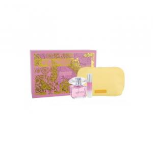Versace Bright Crystal Eau De Toilette Spray 90ml Set 3 Parti 2019