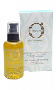 OLIOSETA Oro del Marocco Olio di argan trattante per capelli  30 ml