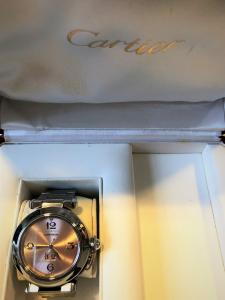 Orologio secondo polso Cartier Pasha