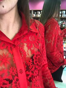 Camicia in Pizzo