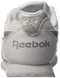 SNEAKERS REBOOK ROYAL CLJOG 2 2V KIDS CN1326 WHITE/SILVER SPARKLE
