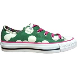 SNEAKERS CONVERSE CT OX 109549 GREEN BUBBLE FLOWERS
