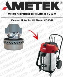 VC 60-U motor de aspiración AMETEK para aspiradora HILTI