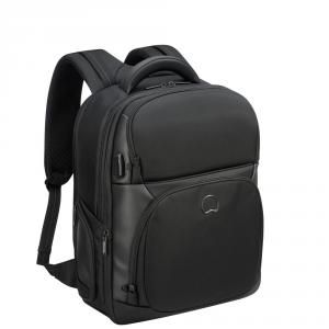 Delsey - Quarterback Premium - Zaino espandibile 2 scomparti protezione pc 17