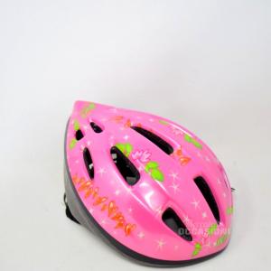 Casco Da Bici Rosa Winx